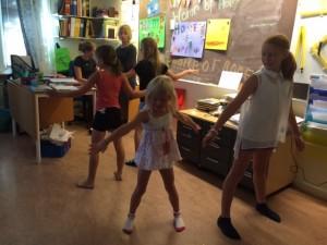En av dansuppvisningarna.