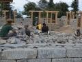 Barnhemmet på väg att byggas.